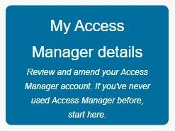 My Access Manager Details