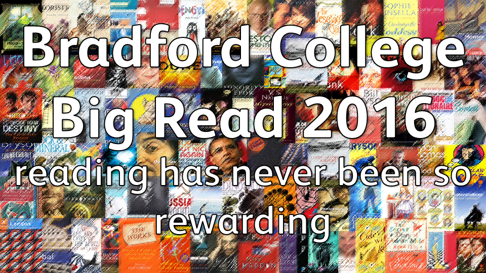 Bradford College Big Read 2016